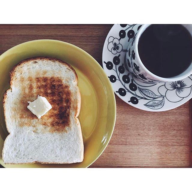 普段の朝食に