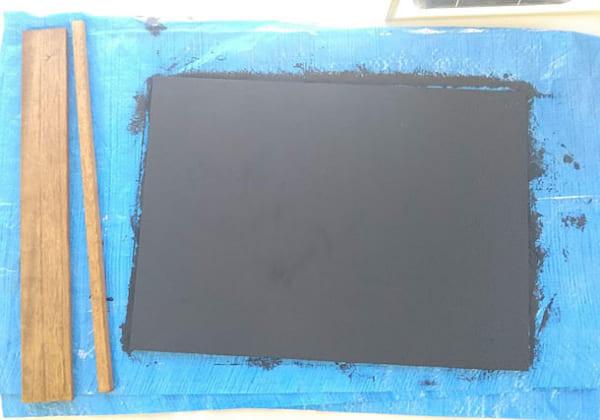 木材が余ってるから黒板をつくろう!6