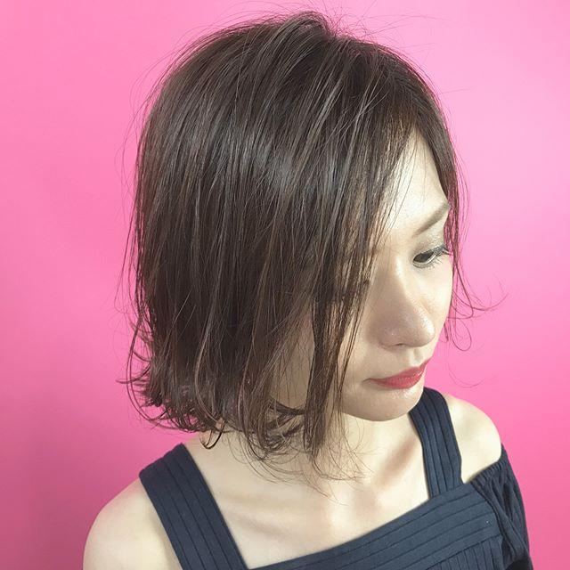 今一番やってみたい♡地毛風暗髪カラー+ハイライトスタイル9
