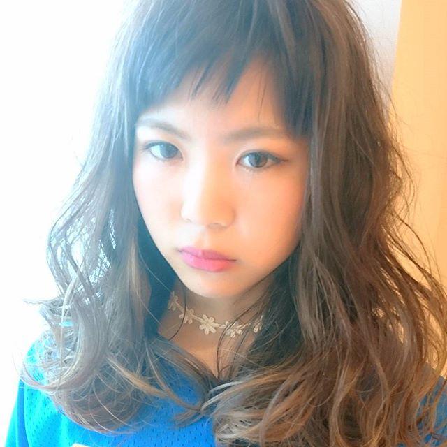 オン眉前髪15