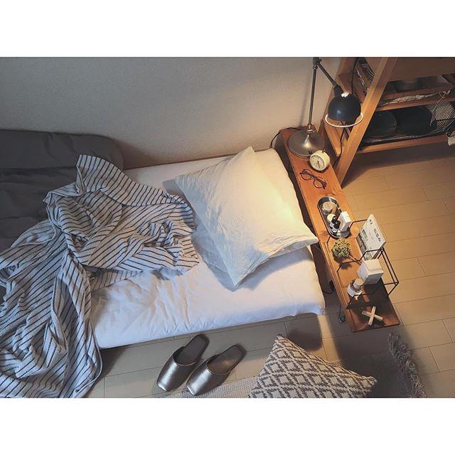 乙女心をくすぐられる一人暮らしルーム♡@mmm_09さん2
