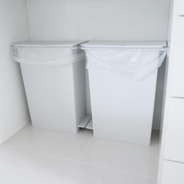 ゴミ箱収納スペース実例集56