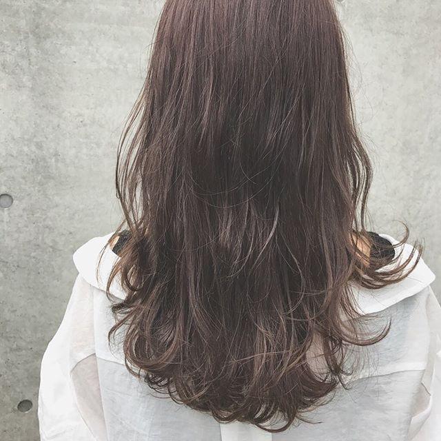 今一番やってみたい♡地毛風暗髪カラー+ハイライトスタイル3