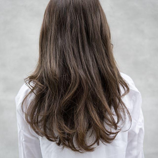 今一番やってみたい♡地毛風暗髪カラー+ハイライトスタイル13