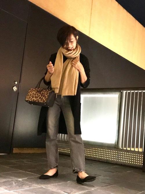 【ユニクロ】アースカラーコーデ×大人女子7