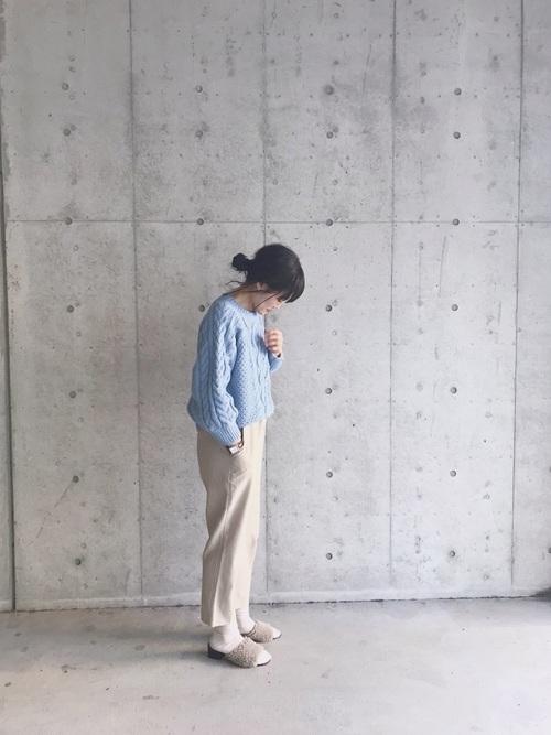 【GU】のプチプラニット15