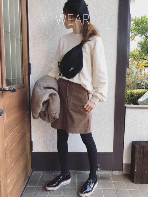 スカートがユニクロ1