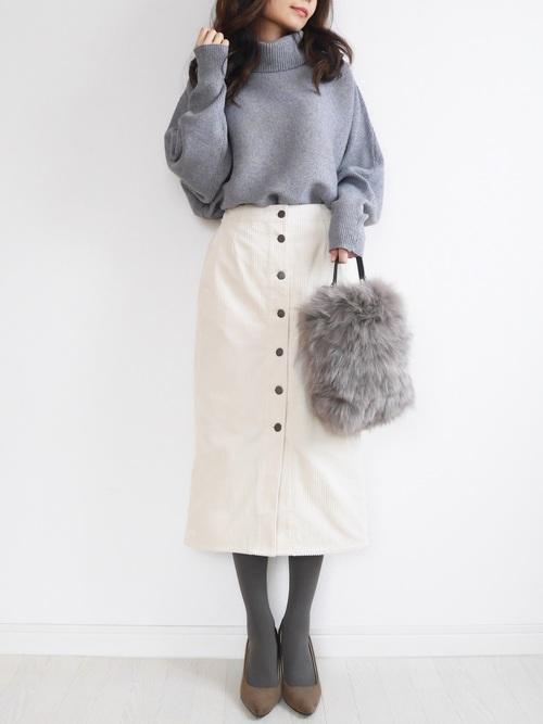 シンプルタイトスカート2