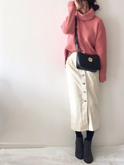シンプルタイトスカート3