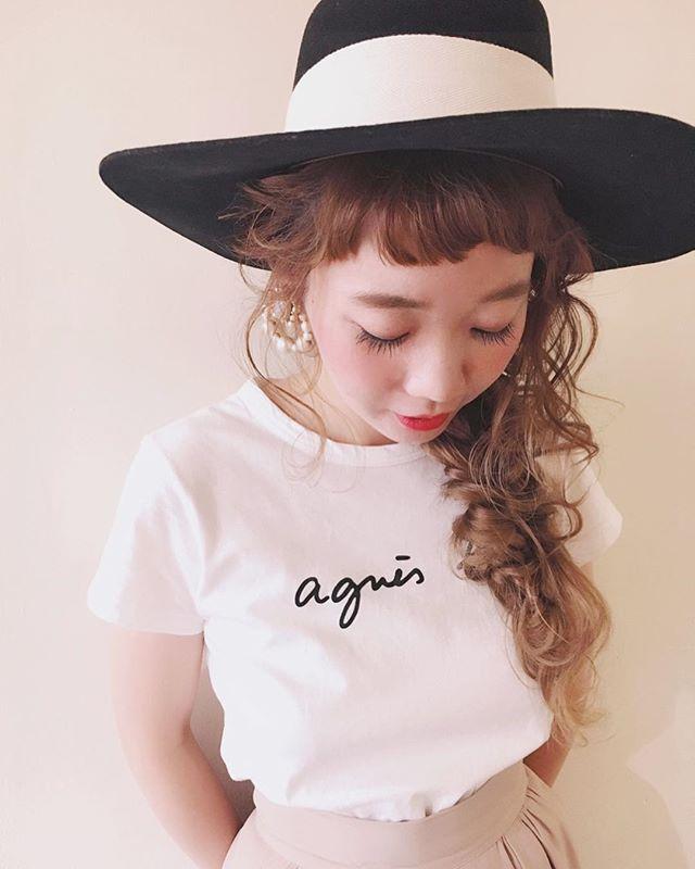 帽子を可愛くかぶるヘアアレンジ2