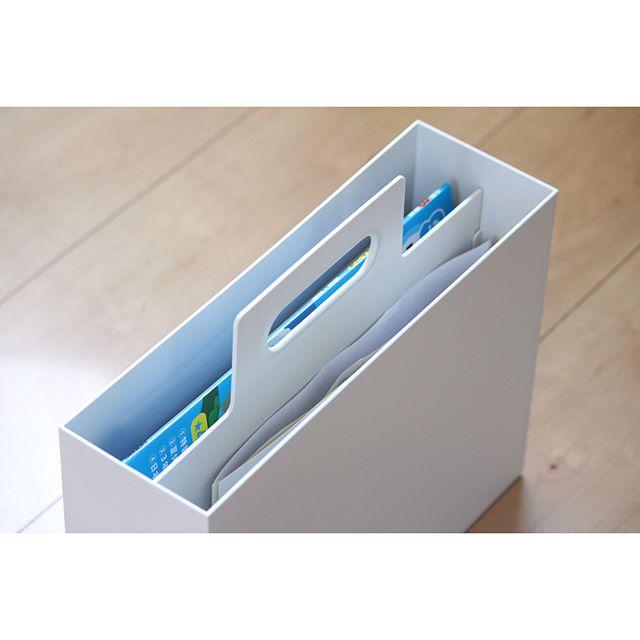 収納上手のマストアイテム「ファイルボックス」19