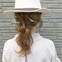 ターバン・ヘアアクセ・帽子を使って♡おしゃれなヘアアレンジ集