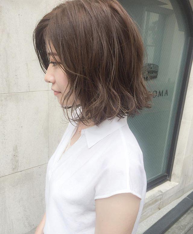 まとめ髪以外のニュアンスアレンジ2