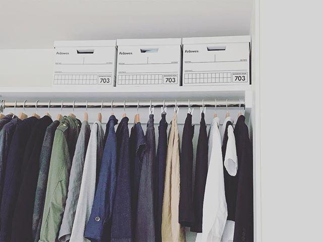 「衣類収納」に役立つアイテム&収納術!46