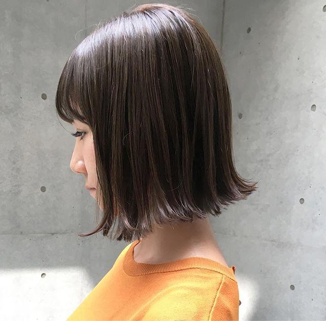 今一番やってみたい♡地毛風暗髪カラー+ハイライトスタイル12