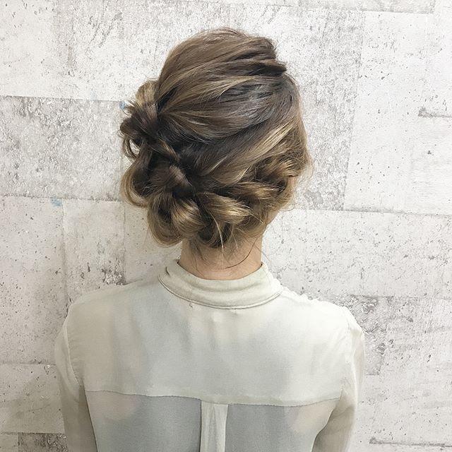 30代におすすめのまとめ髪