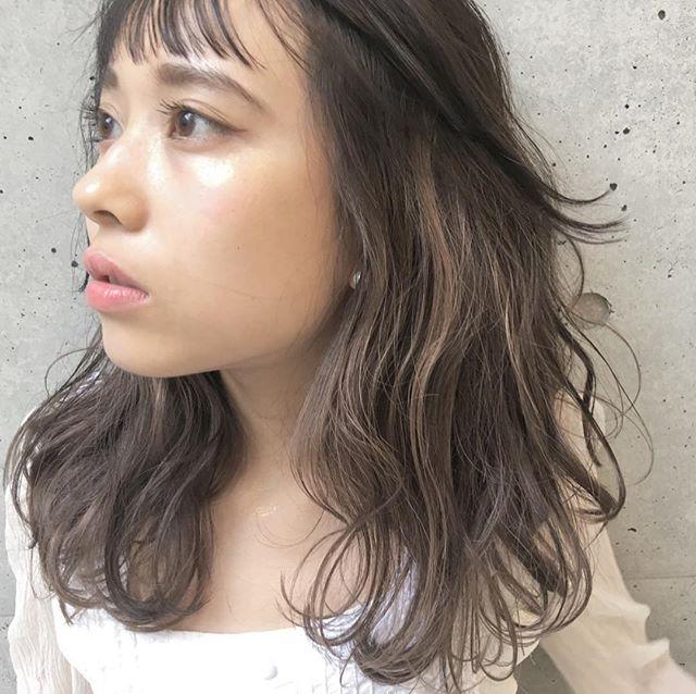 今一番やってみたい♡地毛風暗髪カラー+ハイライトスタイル