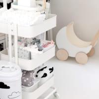 ベビーグッズ収納☆【IKEA・無印・セリア】のアイテムを上手に使うアイディア