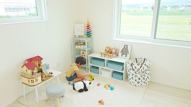ママにオススメ♡スクエアボックスを子供部屋のおもちゃ収納に!3