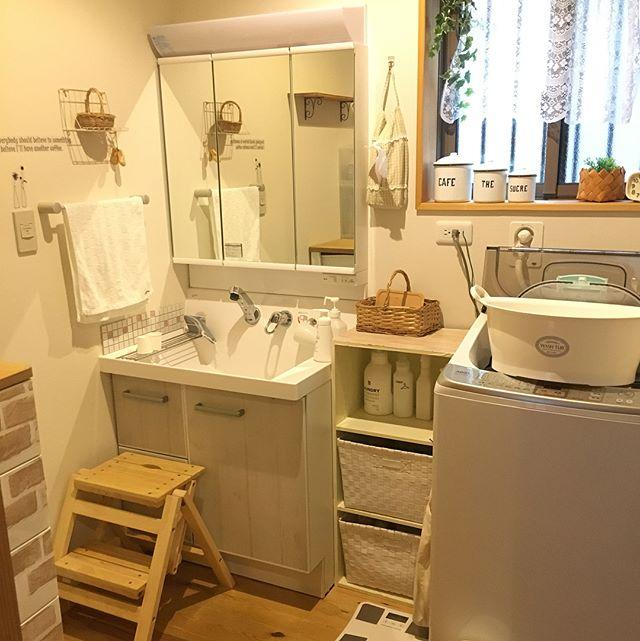 おしゃれな洗面スペース16