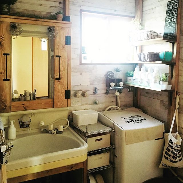おしゃれな洗面スペース18
