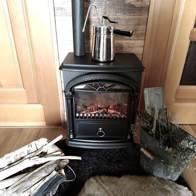 暖炉型ファンヒーター2