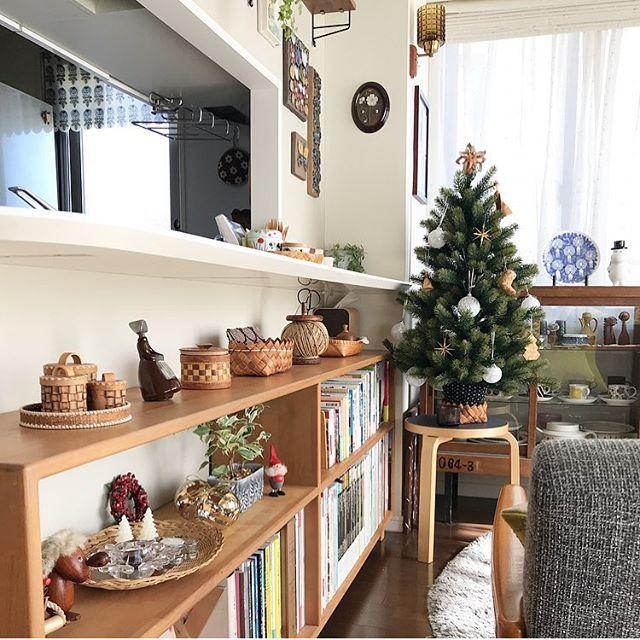 クリスマスツリーインテリア4