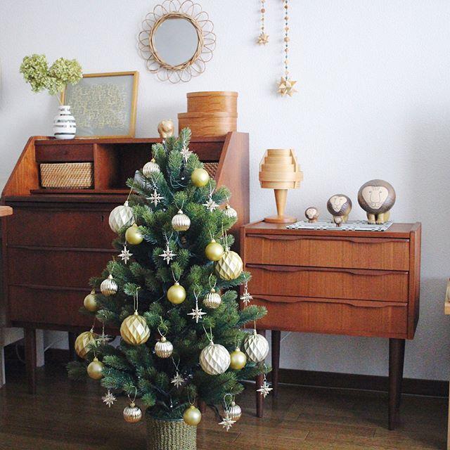 クリスマスツリーインテリア3