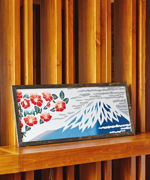 [チャイハネ] 【カヤ】注染手ぬぐい 冬富士