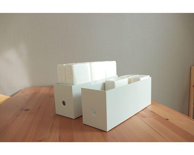 収納上手のマストアイテム「ファイルボックス」12