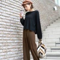 冬らしい【コーデュロイ&ニット】素材!使える冬物パンツの着こなし術15選★