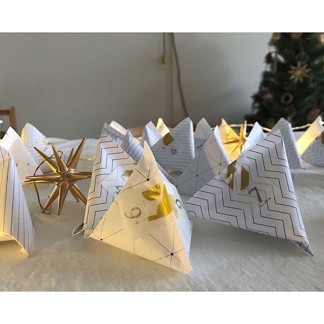 モノトーンデザイン折り紙