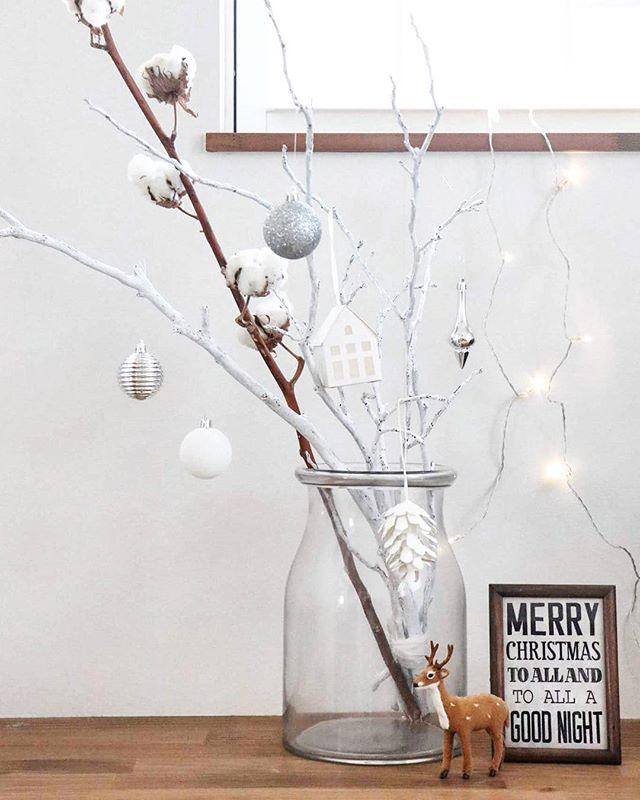 枝ツリーでクリスマスを楽しもう3