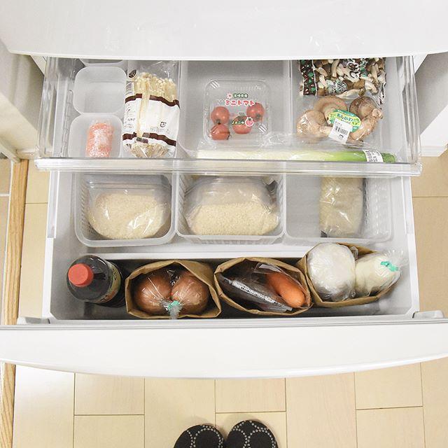 冷蔵庫内の収納アイディア