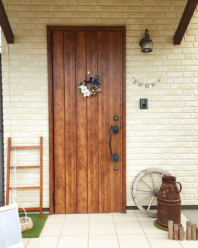 ドアに飾る