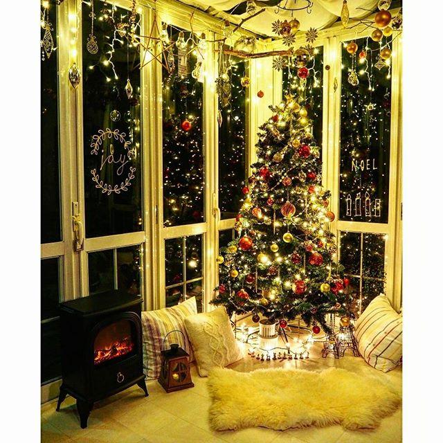 お部屋の一角をクリスマス一色に!