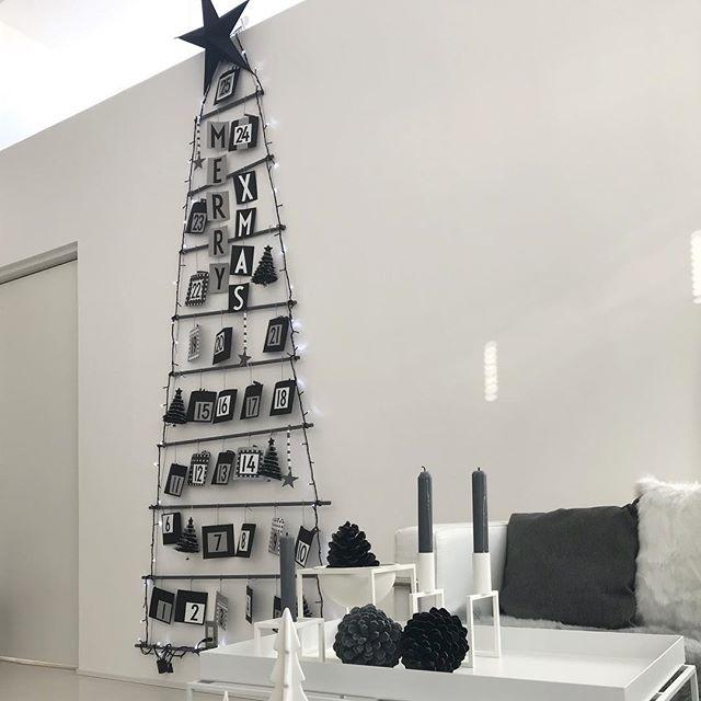 毎年手づくり♪アドベントカレンダーでクリスマスツリー3