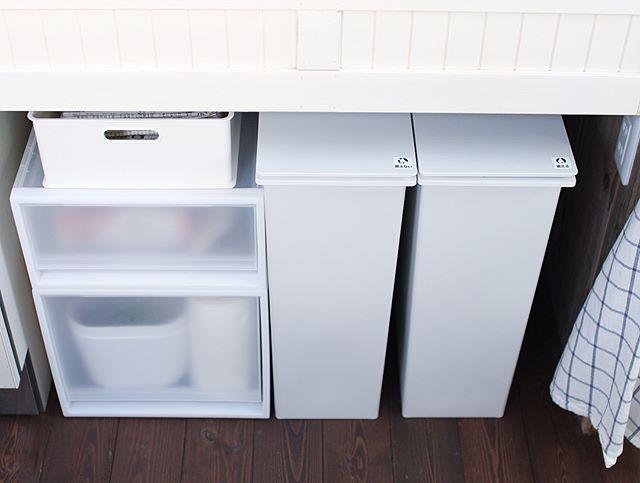 ゴミ箱収納スペース実例集57