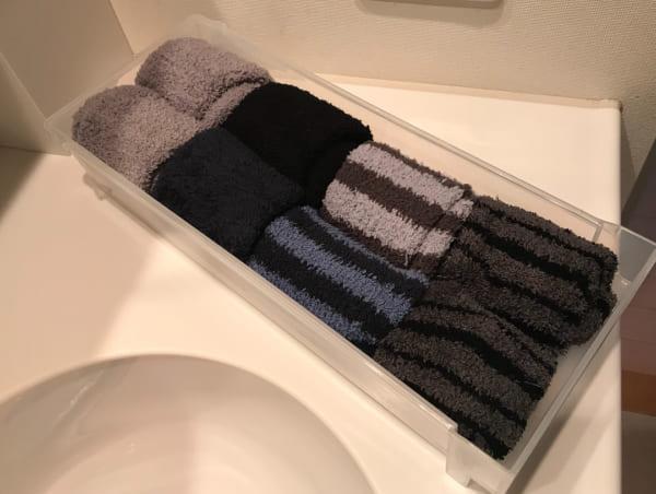 靴下のたたみ方&収納実例をご紹介34