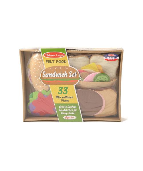 [BEAMS WOMEN] Melissa & Doug / フェルト プレイフード サンドイッチセット