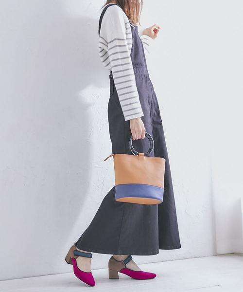 [ORiental TRaffic] 秋冬新作★マルチカラ―スポーティーパンプス★8334