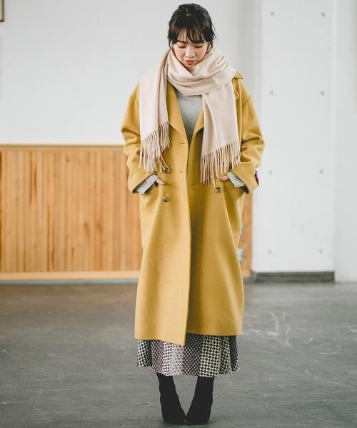 [apart by lowrys] カシミヤウールストール 800682
