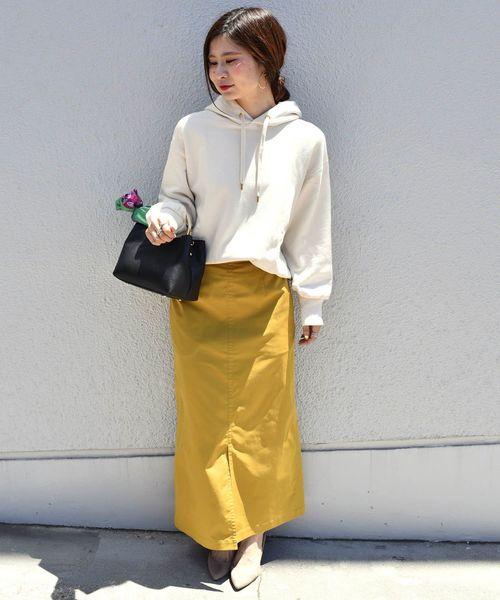 [SHIPS for women] タスランツイルタイトスカート◇