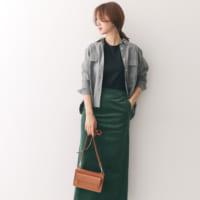 主役はスカート♡素材&カラーで周りと差をつける大人女子のロングスカート特集!