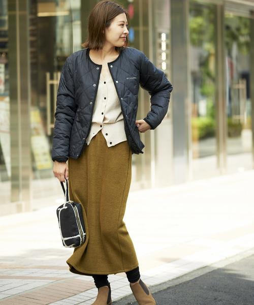 [CIAOPANIC TYPY] ニットライクリブIラインスカート