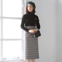 タイトスカートコーデで女っぽく♡ブランド別に見るトレンドアイテム