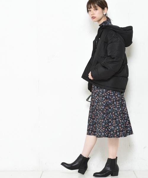 [natural couture] フードフェイクダウン