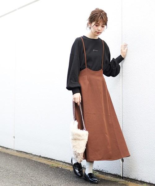 [natural couture] サス付きジャンスカ