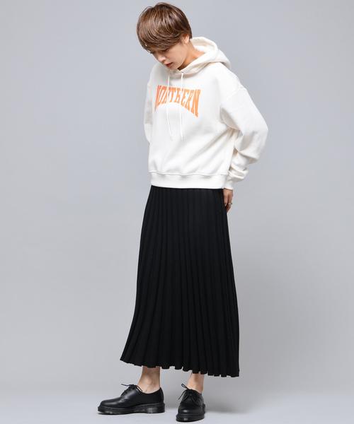 【新色追加】ニットプリーツスカート