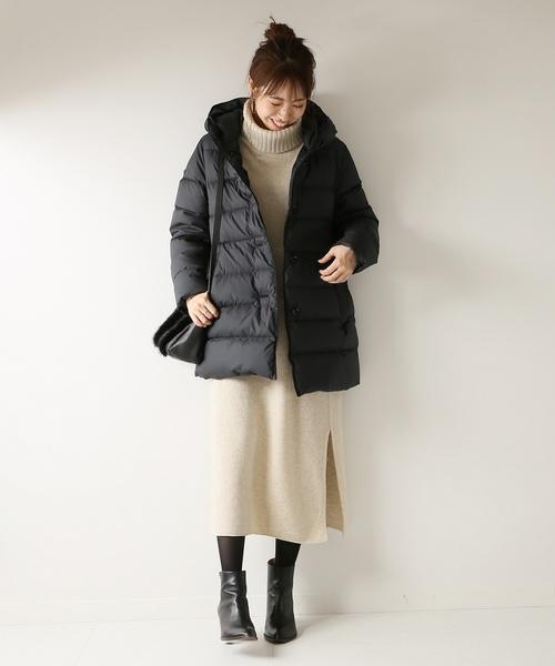 [Spick & Span] *【Traditional Weatherwear】ダウンミドルコート◆